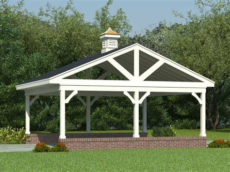 Detached Carport Plans | the garage plan shop blog 187 carport plans