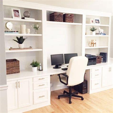 built in office desk best 25 built in desk ideas on home office