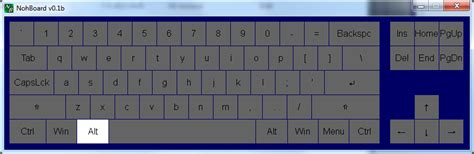 keyboard layout substitutes nohboard download sourceforge net