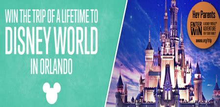 Win A Trip To Disney World Sweepstakes - awana 174 win a trip to walt disney world 174 sweepstakes sweepstakes in seattle
