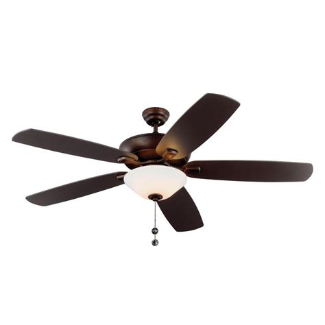 Plus Ceiling Fans Illumine Cariolis 60 In Bronze Indoor Outdoor