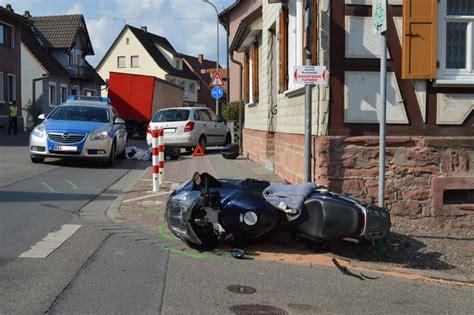 Motorrad Unfall Zwingenberg by Rimbach Schwerer Unfall Motorradfahrer Bei Unfall
