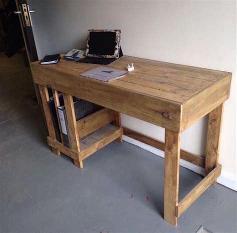 bureau en palette de bois 1001 id 233 es bureau diy planchez sur ces 44 mod 232 les