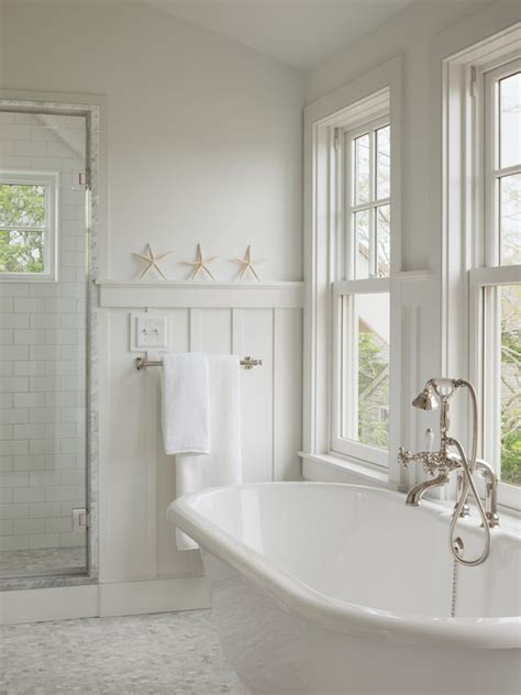 beachy bathroom board and batten wainscoting cottage bathroom sophie