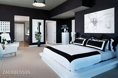 black and white home decor abode