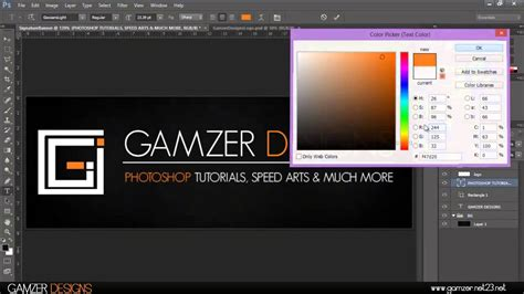 youtube tutorial membuat website gratis cara membuat banner web signature photoshop cs6 tutorial