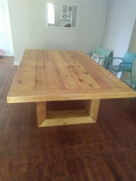 rustic  modern  seater dining table  east