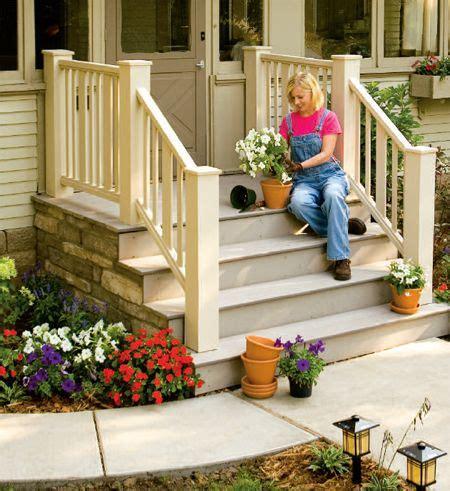 build  front   entry deck  steps