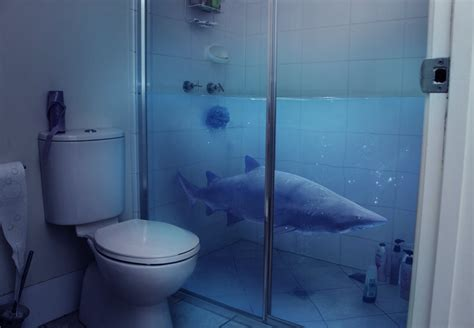 In The Shower by Shower Shark By Anthonyhearsey On Deviantart