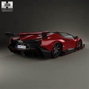 lamborghini veneno roadster 2014 3d model hum3d