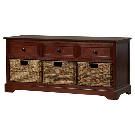 grover wood storage entryway bench reviews joss main