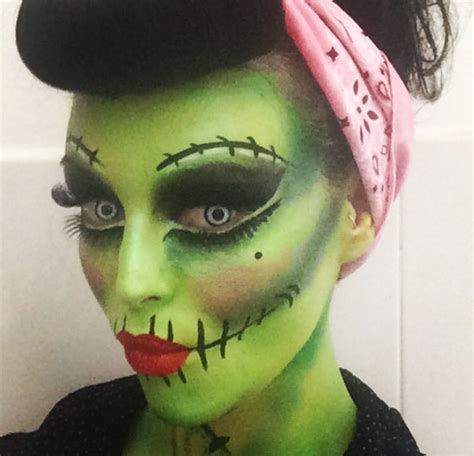 tutorial zombie disfraz loove this pinup style frankie it is it zombie