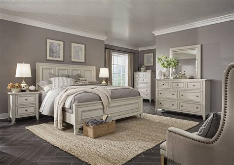raelynn traditional weathered white solid wood master