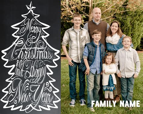 family portrait card template free chalkboard card ideas 171 goodncrazy