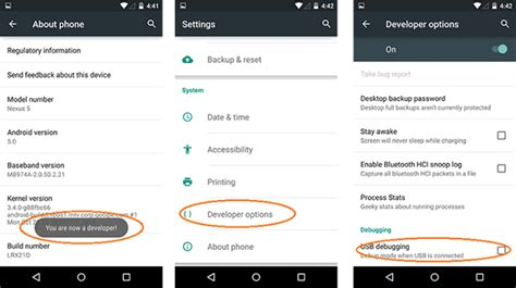 how to debug android how to enable usb debugging on android phone tablet