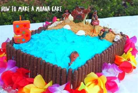 How To Make A Birthday Cake Out Of Paper - how to make a moana birthday cake