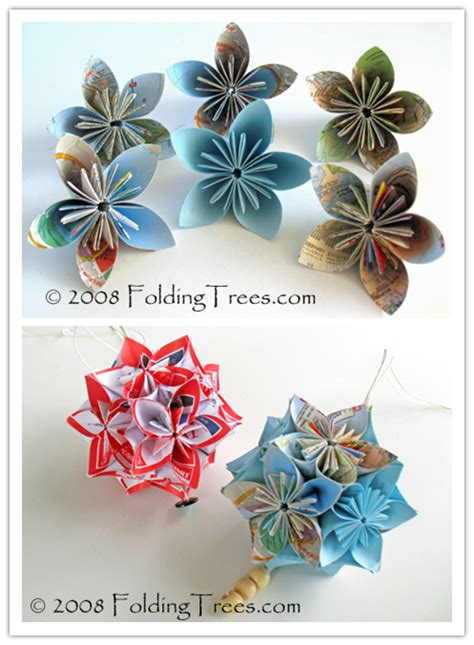 paper flower ball tutorial how to fold beautiful kusudama paper flower balls flower