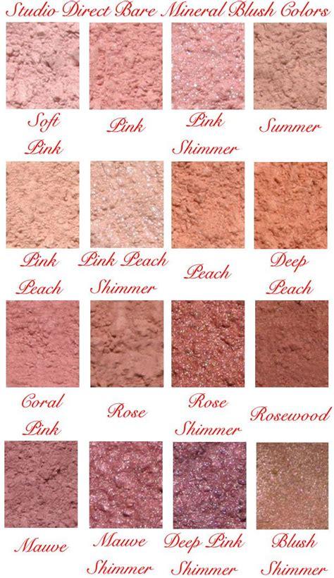 bareminerals color chart bareminerals blush color chart bareminerals blush makeup