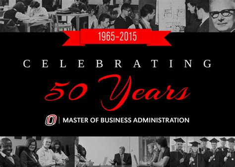 50 Yr Mba by Mba 50th Anniversary Celebration College Of Business