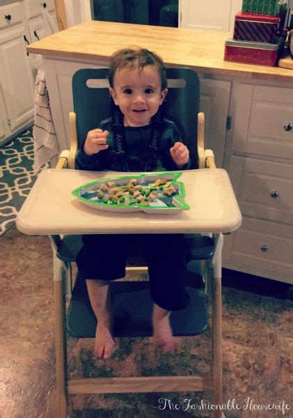 joovy nook high chair review of joovy wood nook highchair the fashionable