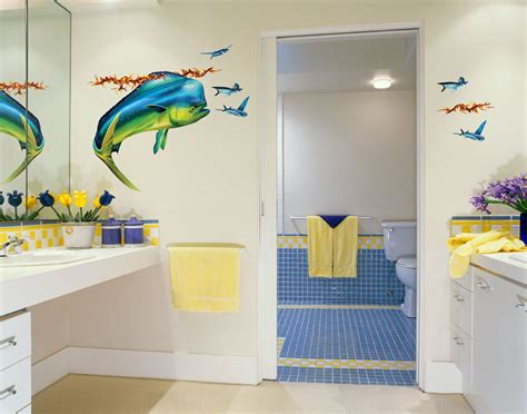 Ideas For Bathroom Wall Decor 17 Decorative Bathroom Wall Decals Keribrownhomes