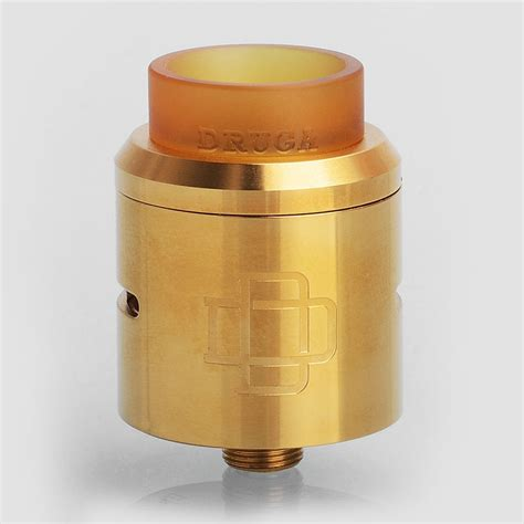 Rda Druga Best Clone Gold Authentic Augvape Druga Rda 24k Gold Limited Edition 24mm Bf Atomizer