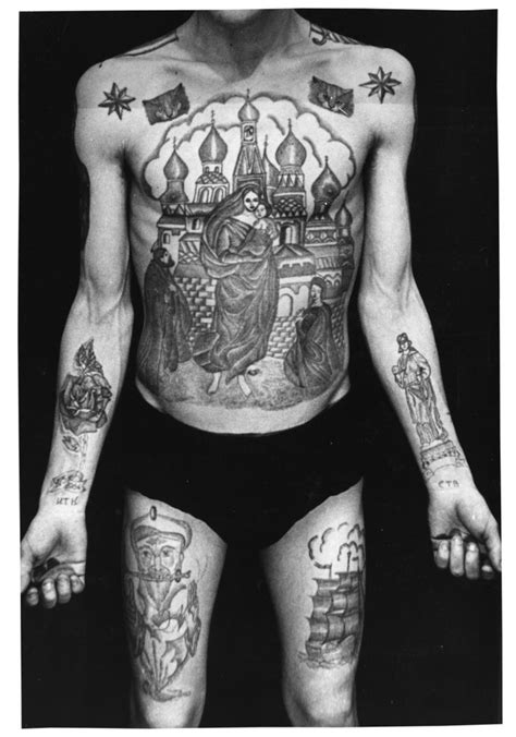prison tattoo russian criminal tattoos quot text on the right wrist reads