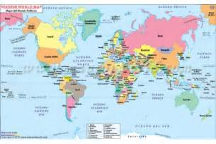 Spanish Home Decor Store Buy Spanish World Map With Countries Online