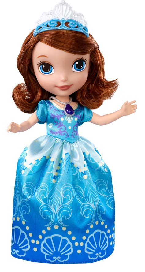 sofia the first disney doll disney sofia the first princess 9 quot sofia in seashell dress