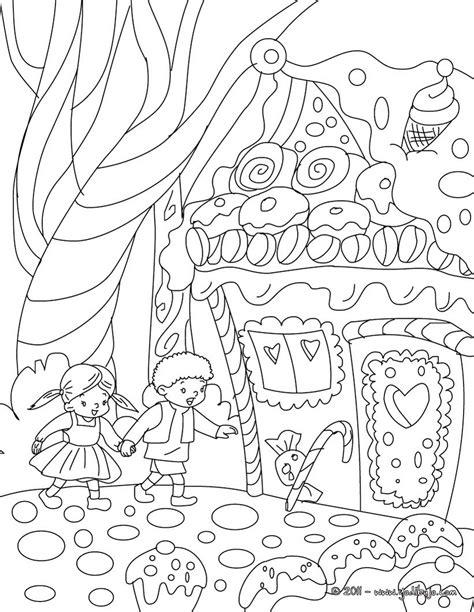 Hello Hansel N Gretel dibujos para colorear cuento hansel y gretel es