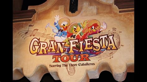 boat ride movie gran fiesta tour starring the three caballeros epcot