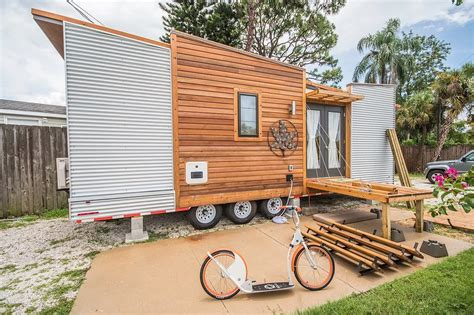 vacation in a tiny house 220 sq ft dragonfly tiny house vacation in sarasota florida