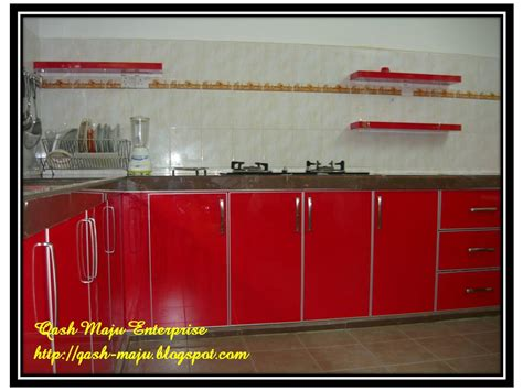Kabinet Hiasan hiasan dapur
