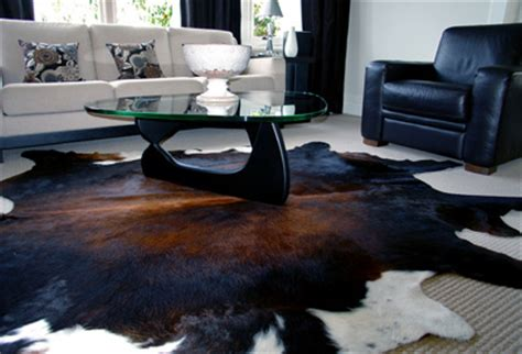 Cowhide Rug Cleaning - how to spot a staged house or condo