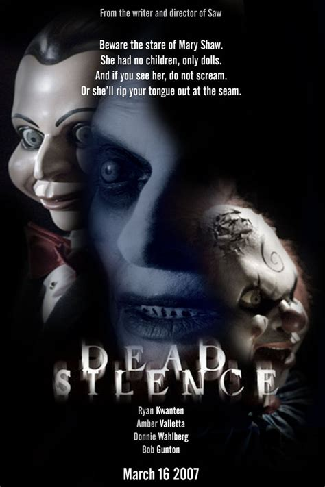 dead silence 214 l 252 dead silence poster by chaotica i on deviantart