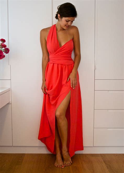 DIY Side Split Wrapped Bodice Dress   The Tutorialbraldey