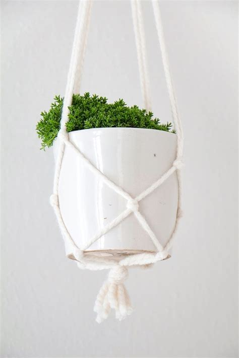 Macrame Pot Plant Hanger - best 25 pot hanger ideas on pot hanger