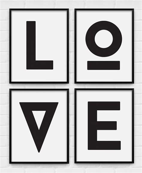 printable poster black and white black white art design crush
