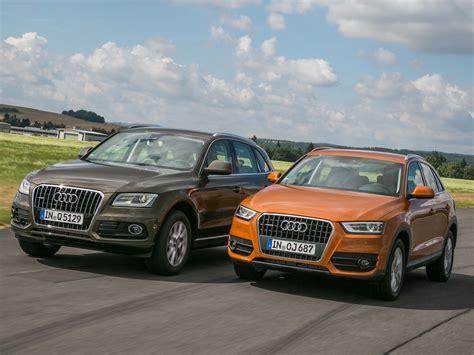 Auto Versicherung Q3 by Audi Q5 2 0 Tdi Gegen Q3 2 0 Tdi Vergleich Autozeitung De