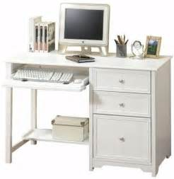 small white computer desk small computer desk with drawers foter