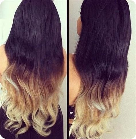 how to dye your hair blonde from black the whole process easy and best 10 dip dye ombre color hair ideas without
