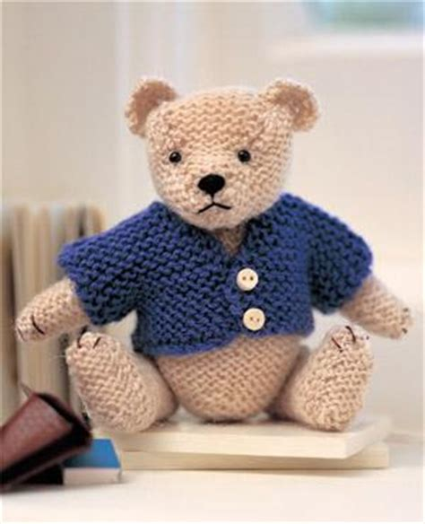 teddy knitting patterns free catherine studio knit a teddy free patterns
