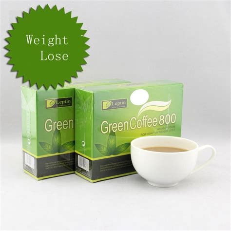 Leptin Green Coffee 1000 Pelangsing Alami 2 Boxes Leptin Green Coffee 800 Slimming Tea Weight Loss