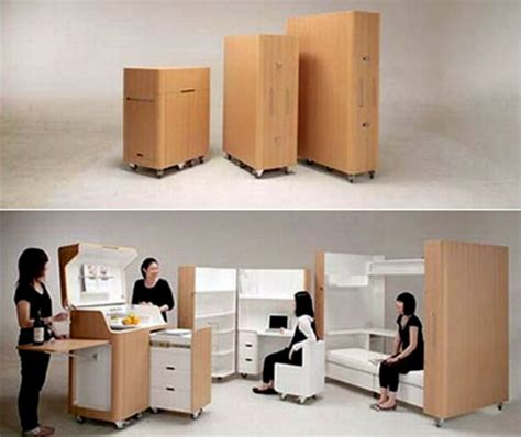 Bed Folds Into Desk by Fold Out Bed Kitchen And Desk By Toshihiko Suzuki Architect