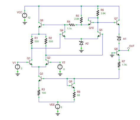 diode comparator circuit analog tutorial lesson 14 exploring an integrated circuit voltage comparator emagtech wiki