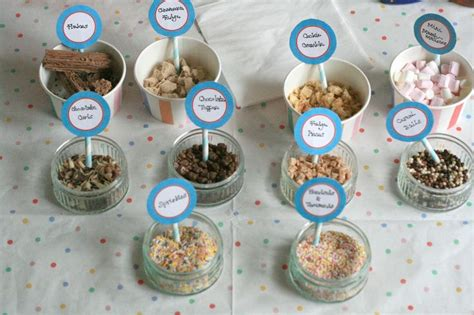 ice cream bar toppings list 17 best images about ice cream stall ideas on pinterest