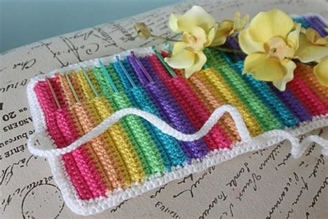 pattern crochet needle case crochet hook case all the best patterns the whoot