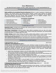 Underwriter Resume Sle finance assistant resume