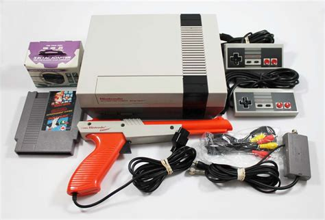 buy nes console buy a used nes nintendo system console with gun