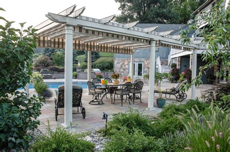 Patio Covered Pergola Covered Pergola Porch Industrial With Deck Clear Roof Awning
